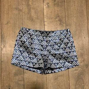 JCREW IRIDESCENT SHORTS!